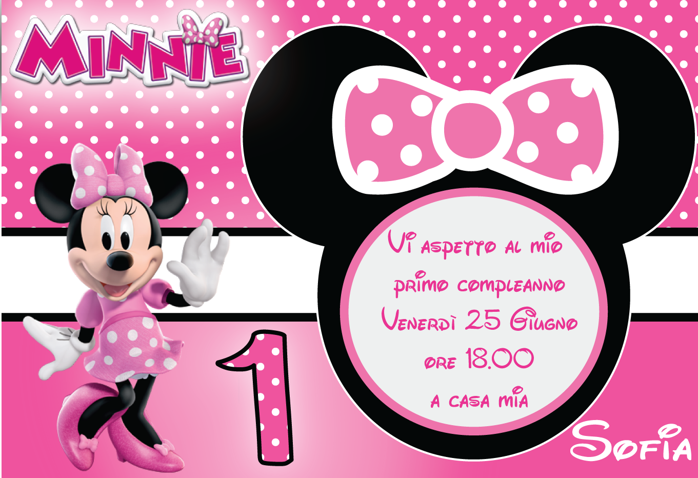 inviti minnie da