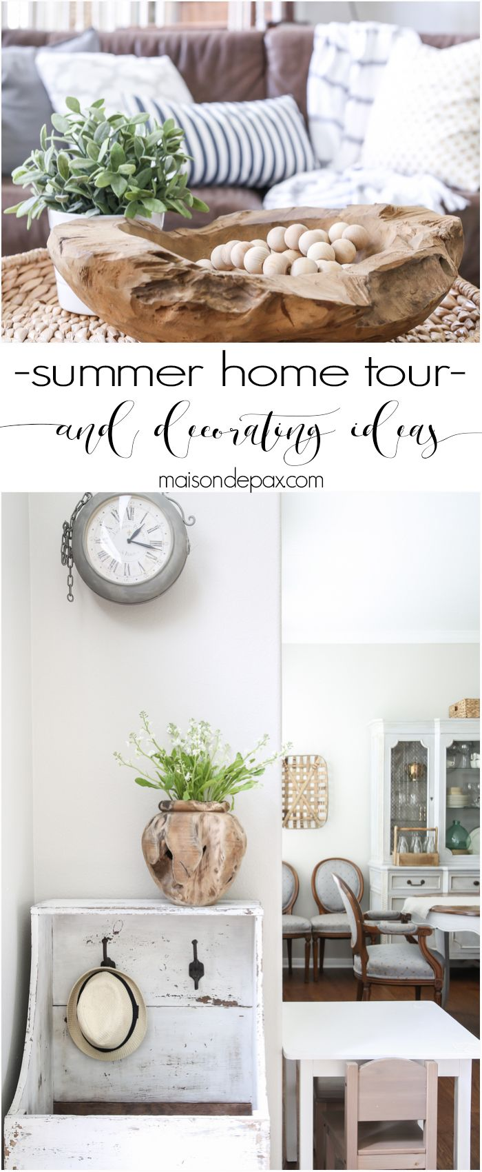 Summer decorating ideas home tour decor it pinterest home