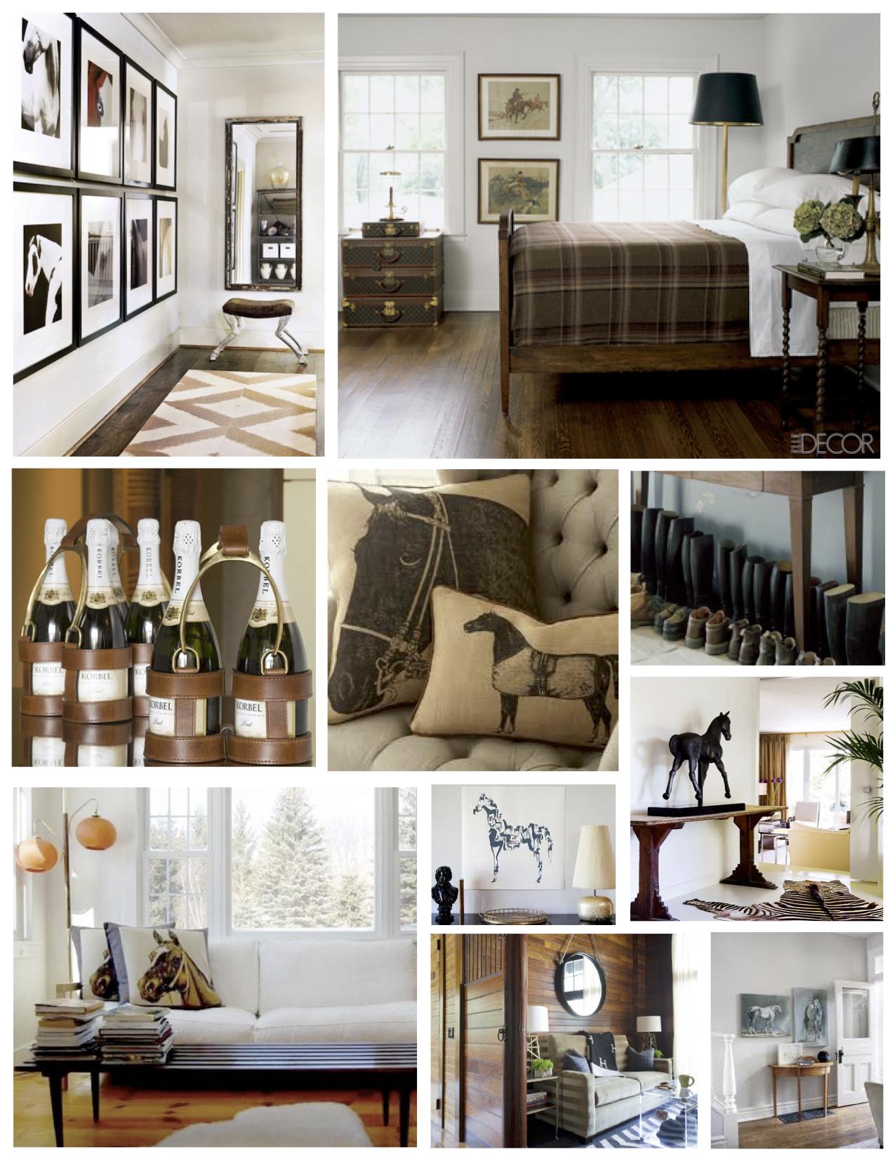 Interior Influences Of Equestrian Style   Equestrian decor ...