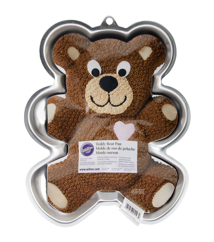 Wilton Novelty Cake Pan Teddy Bear 13 5 Quot X10 5 Quot X2