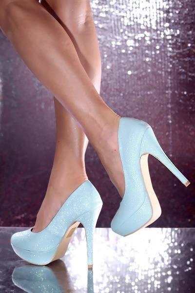 baby blue heels love