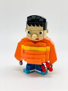 哆啦a夢 ドラえもん doraemon doraemon lego brick character