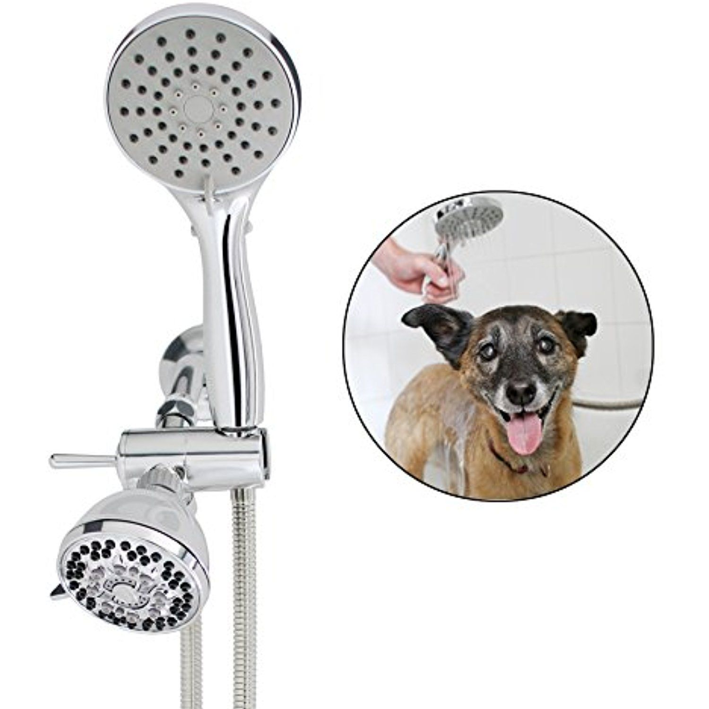 Smarterfresh Pet Shower Sprayer Set Complete Pet Wash Hand Held