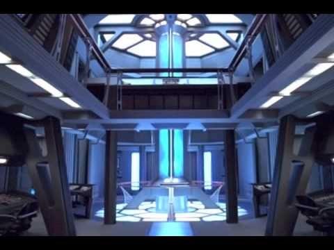 Star Trek: Voyager Engineering Warp Core Background Ambience