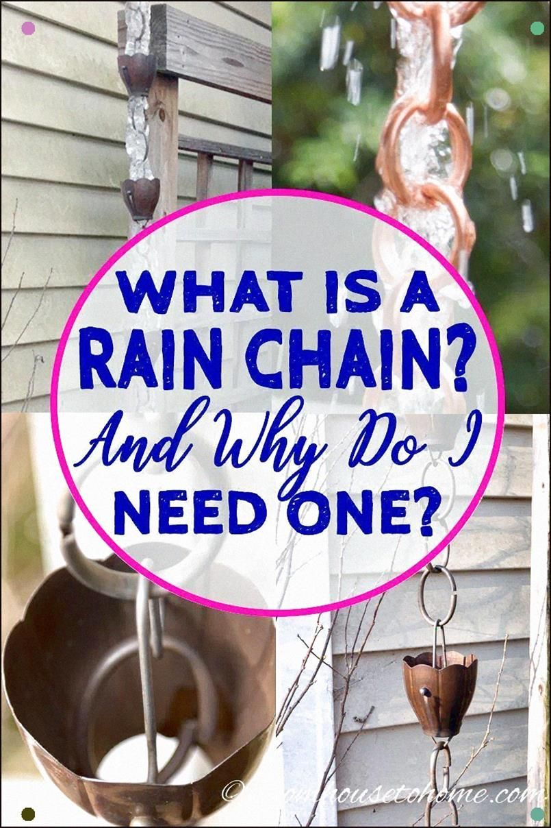 Great rain chain ideas with lots of pictures of rain chain