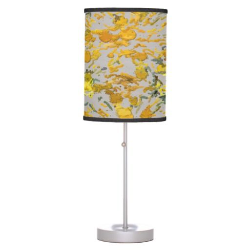 Sunflower Seeds #1903 Lamp by khoncepts.com $50.95 #yellow #homedecor