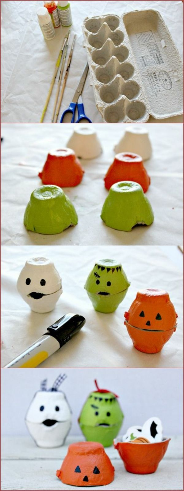 30 cool craft ideas from egg boxes that amaze you