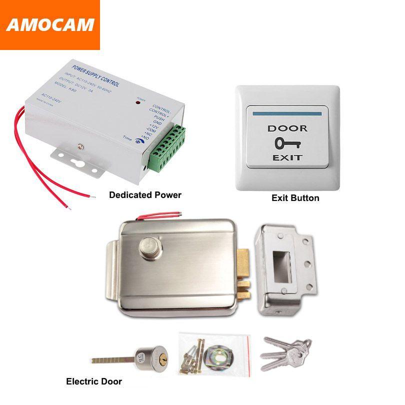 Electric Electronic Door Lock Power Supply Box For Door Access Control System Video Doorbell Do Access Control Access Control System Electronic Door Locks