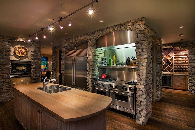 Superieur Okanagan Lakeshore Home Design 8 Multi Million Dollar Lakeshore Property  Infused With Nautical Vibrancy