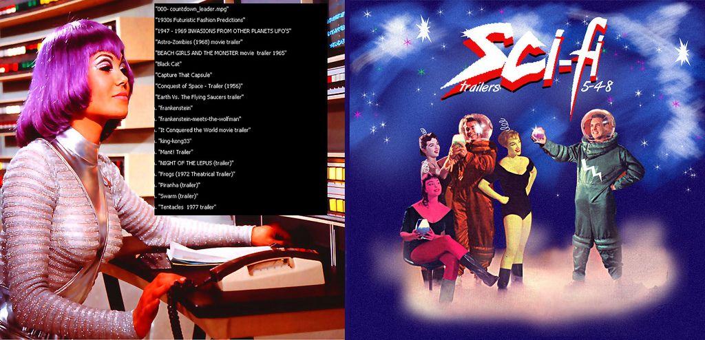 Sci-Fi Trailers 5-4-8 Sci fi