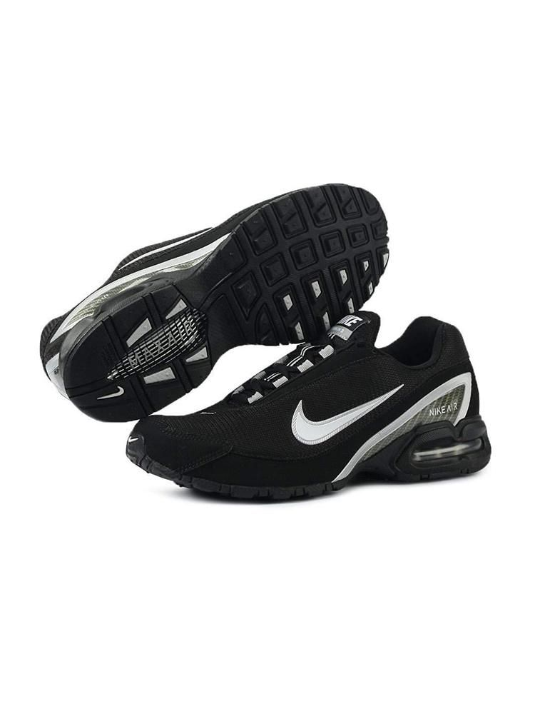 7455f27678d Nike Air Max Torch 3 Mens Running Shoes 319116-011 Black White Size 11.5