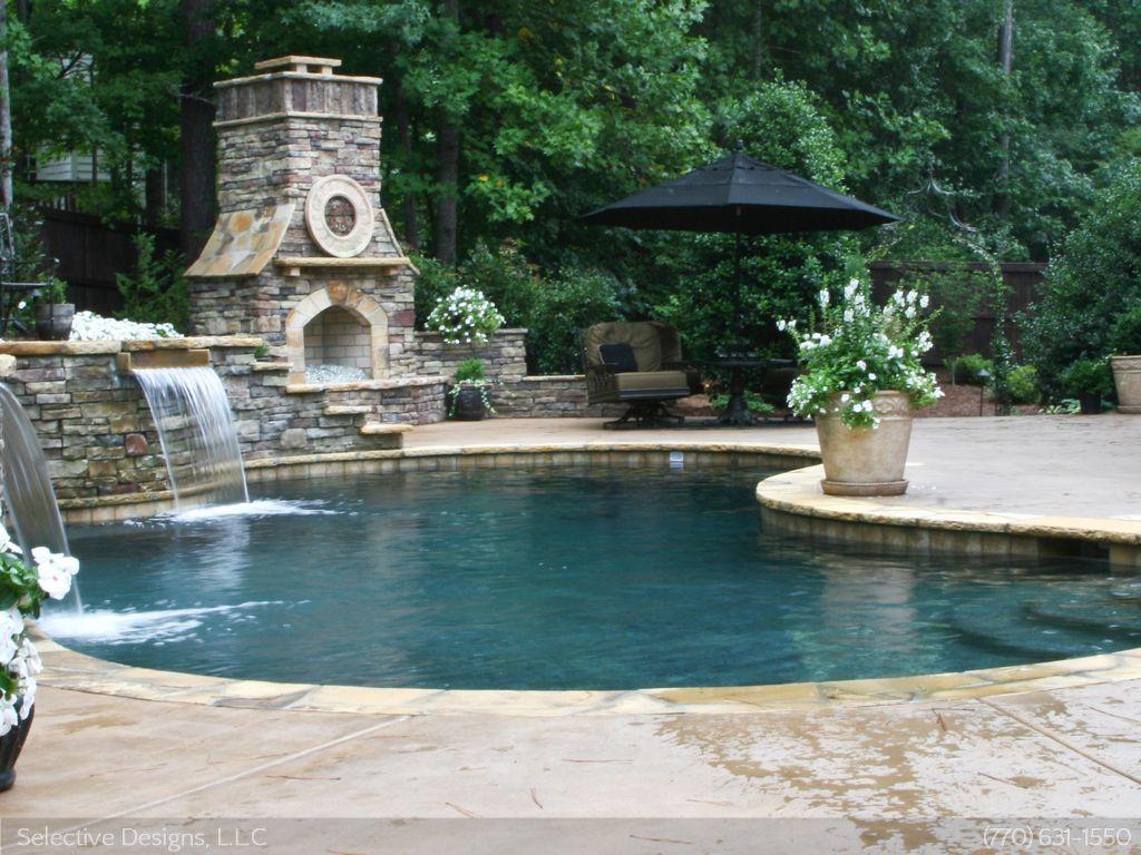 Atlanta Custom Pools | Infinity Edge Pools | Atlanta Outdoor ...