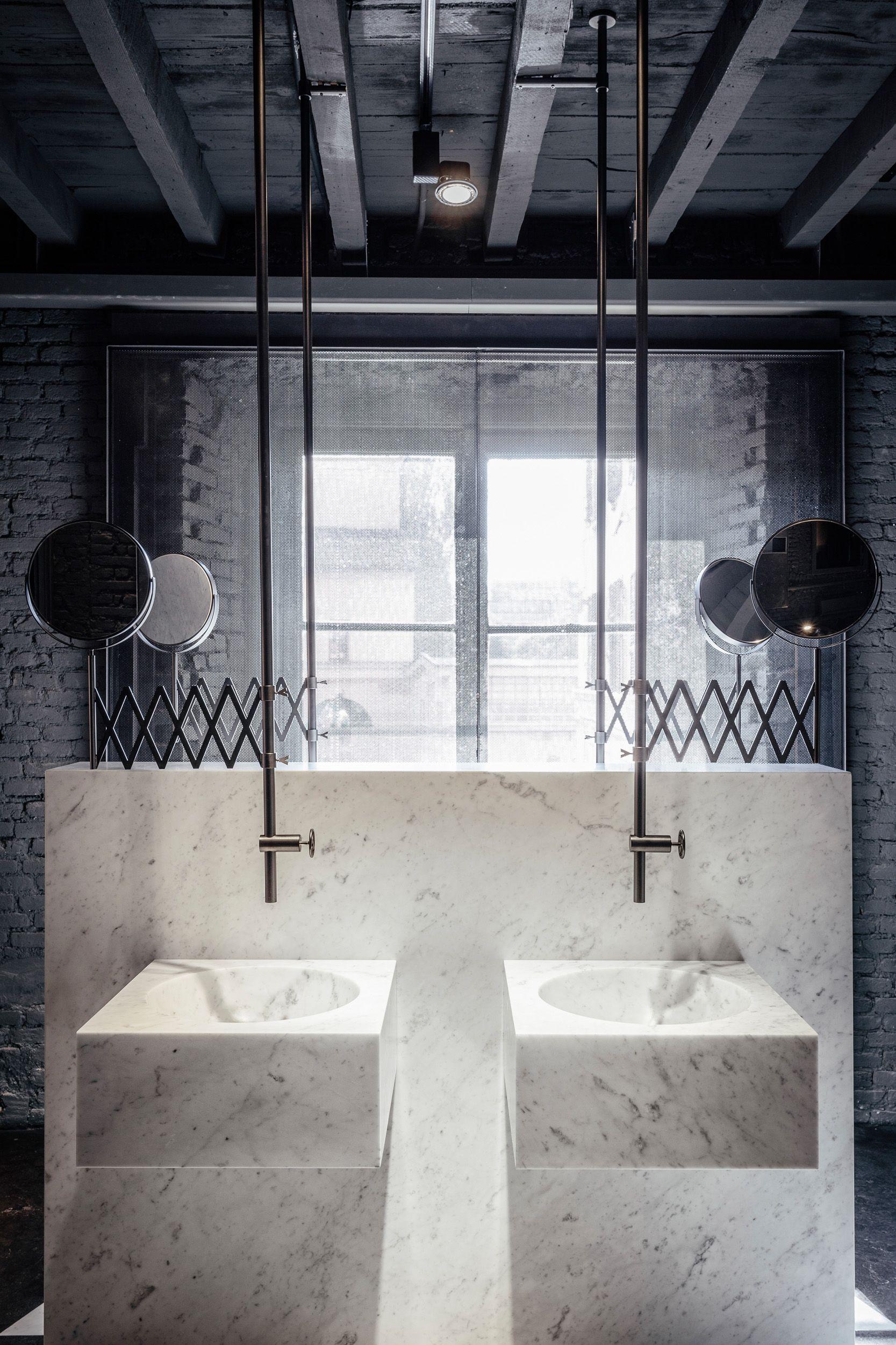 Salvatori  Marble Bath  Fuorisalone 2016  Interiors Impressive Marble Bathroom Designs Inspiration Design