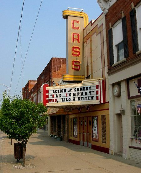 Cass Theatre Cass City Mi Vintage Michigan Pure Michigan