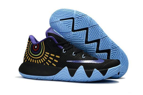 Nike Kyrie 4 Sale Nike Zoom Kyrie 4 Basketball Shoe Kyrie 4 Black Jade  Purple Jade