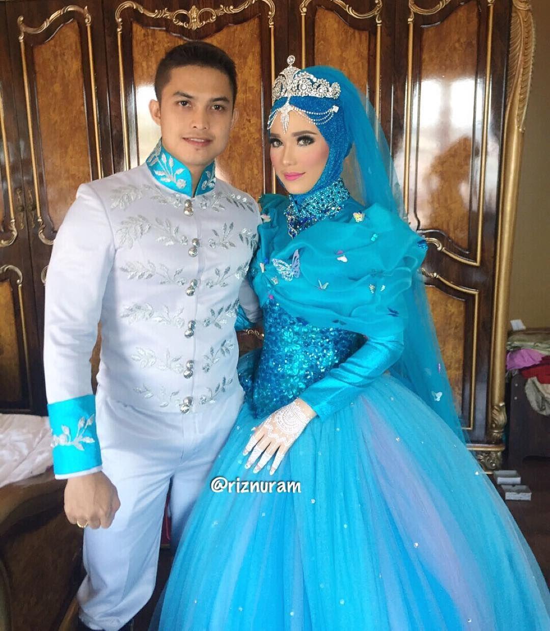 See this Instagram photo by @riznuram • 1,701 likes | Muslim Bridal ...
