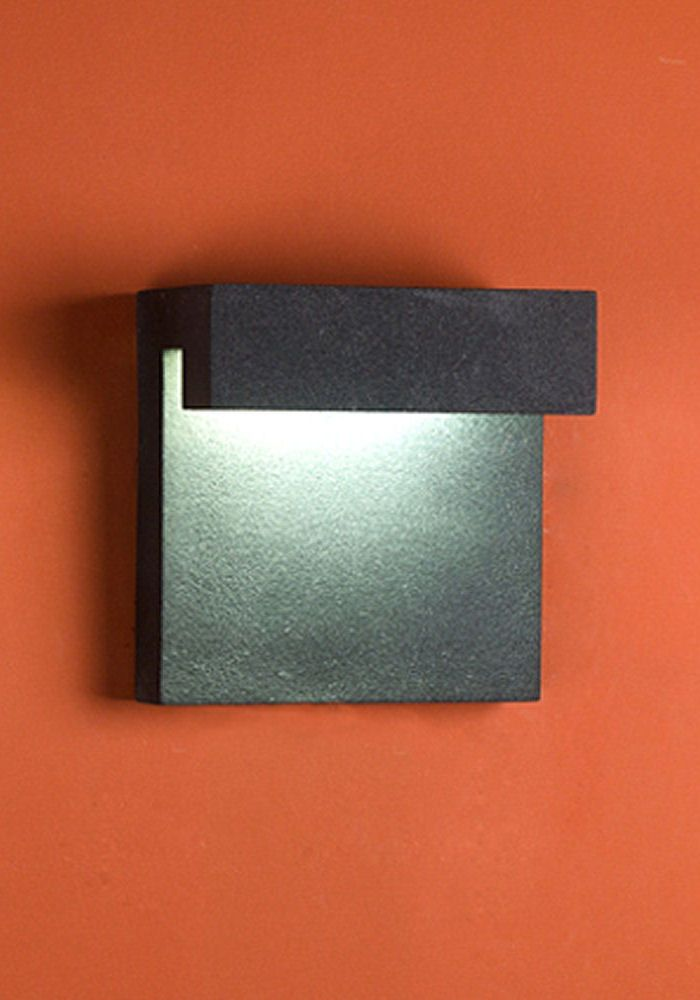 Wall Light That Projects Soft Diffused Light Onto The