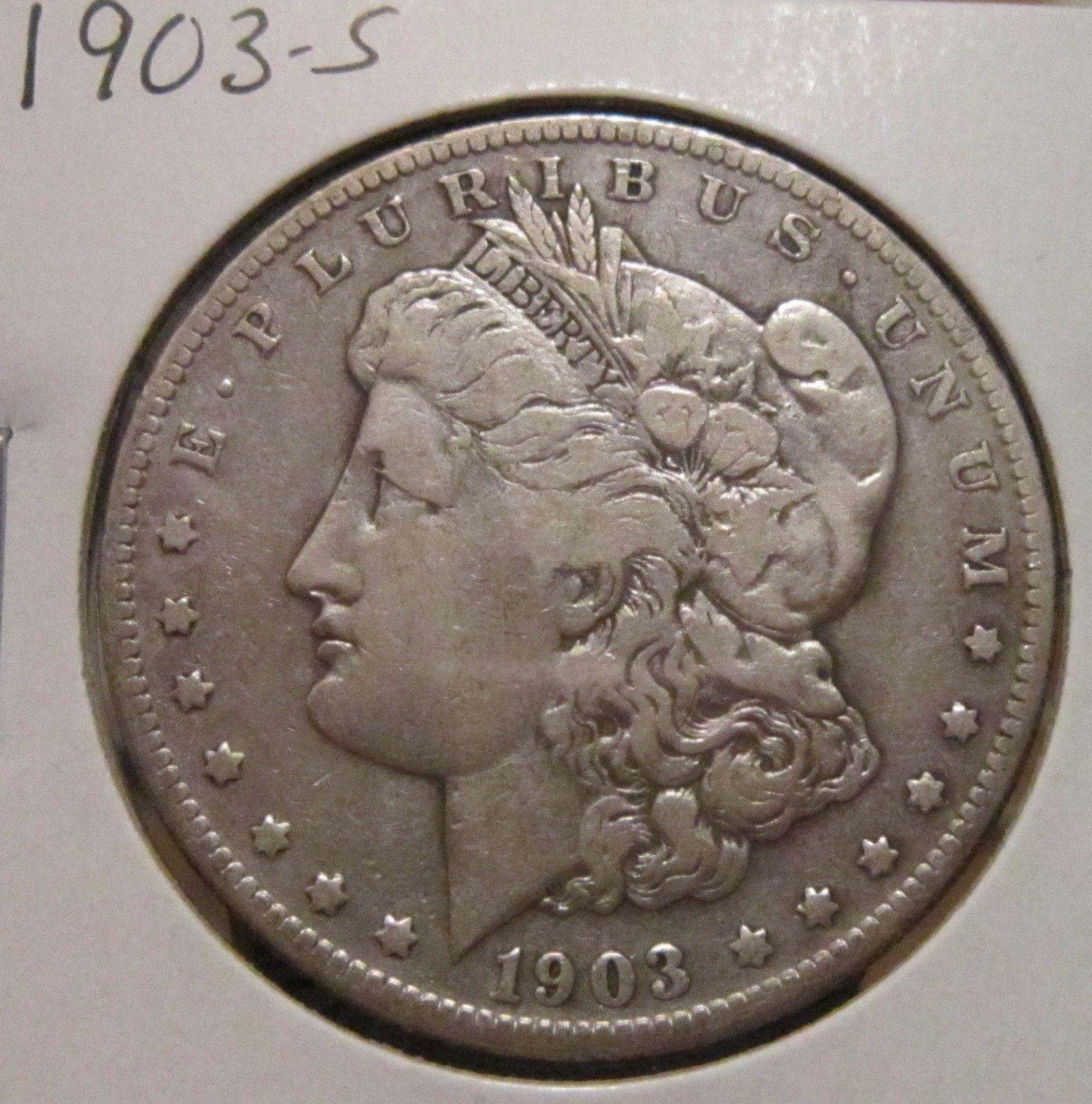 1903-S MORGAN SILVER DOLLAR RARE KEY DATE US SILVER COIN https://t.co/e4RbPvCawj https://t.co/3eEF89uYfo