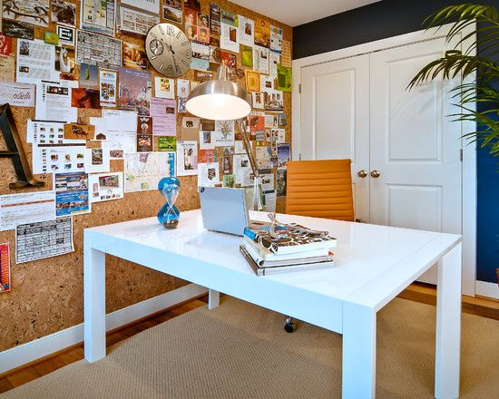 Interesting Fabric Cork Board Ideas For Interior Decoration Home Office Design Wall Bulletin In