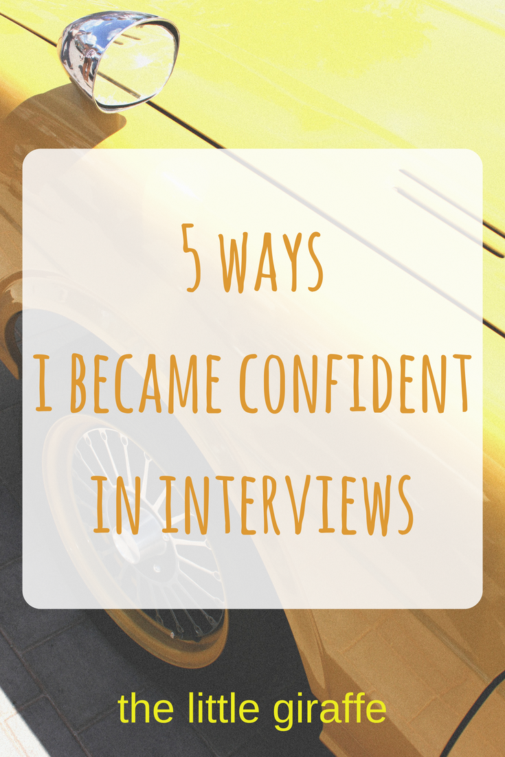 High Quality Do You Feel Nervous, Anxious Or Stressed In An Interview? Youu0027re Not The  Only One! Read My 5 Tips To Give You Guaranteed Confidence In Any Interview.