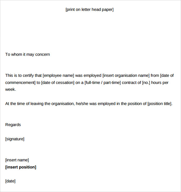 Statement Of Service Template from i.pinimg.com