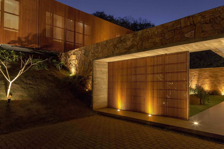Galería de Casa de las piedras / mf+arquitetos - 11