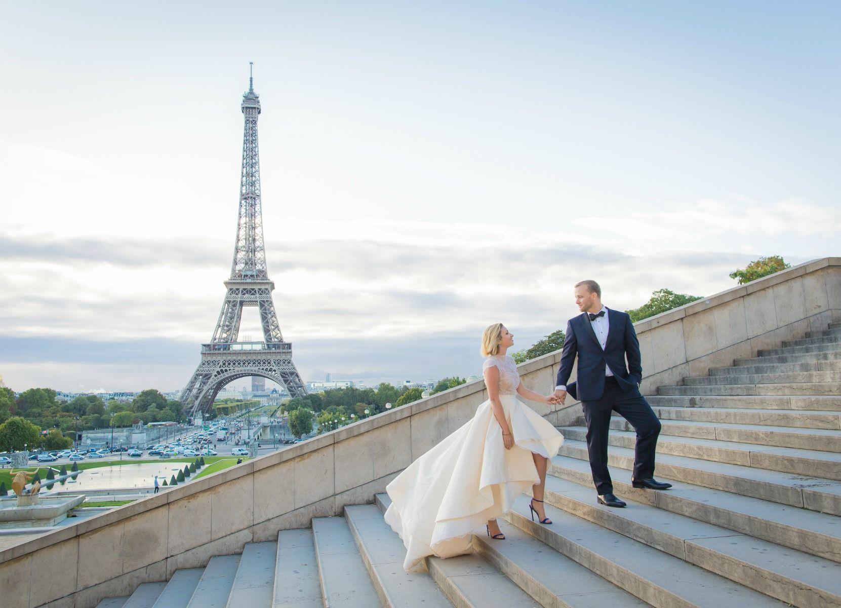 Ashley And Jason S Breath Taking Paris Elopement Wedded Wonderland