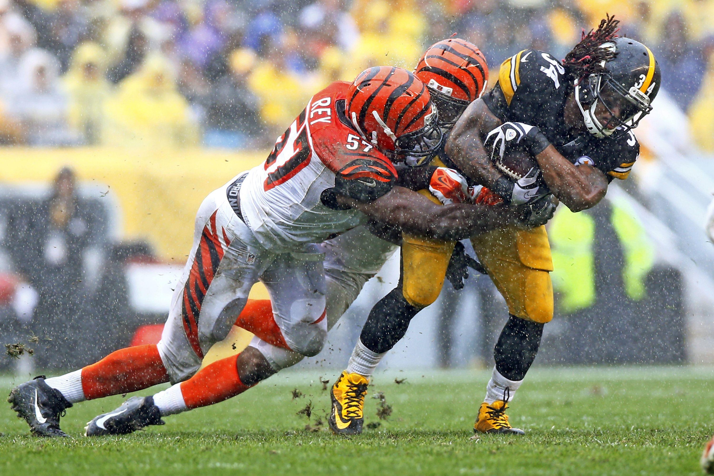 Neither Cincinnati Bengals defenders nor rain could stop