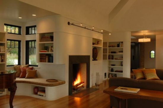 A modern fireplace or a Rumford fireplace - the benefits of