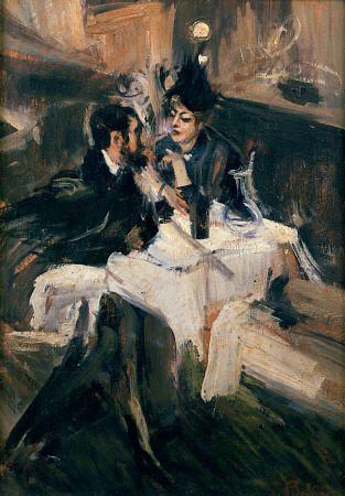 Giovanni Boldini - The Sweethearts Lunch