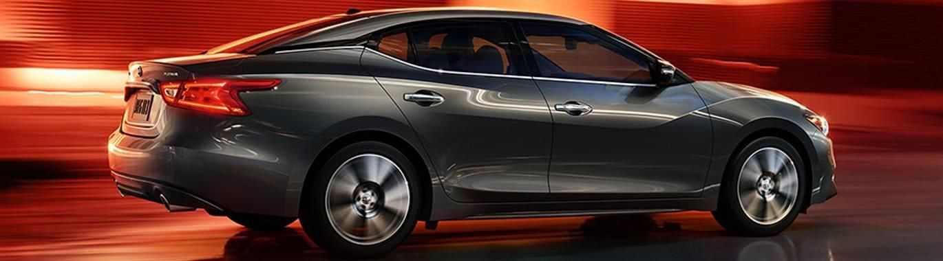 The Nissan Maxima is roomy, stylish inside and out, and