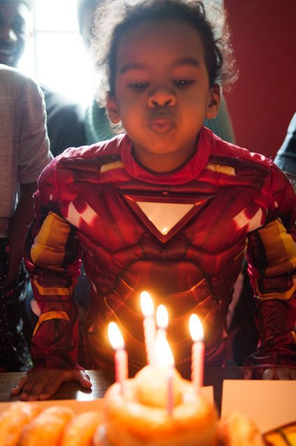This little Iron Man is the best!