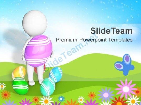Surprises Are Waiting For Easter Powerpoint Templates Ppt Themes And