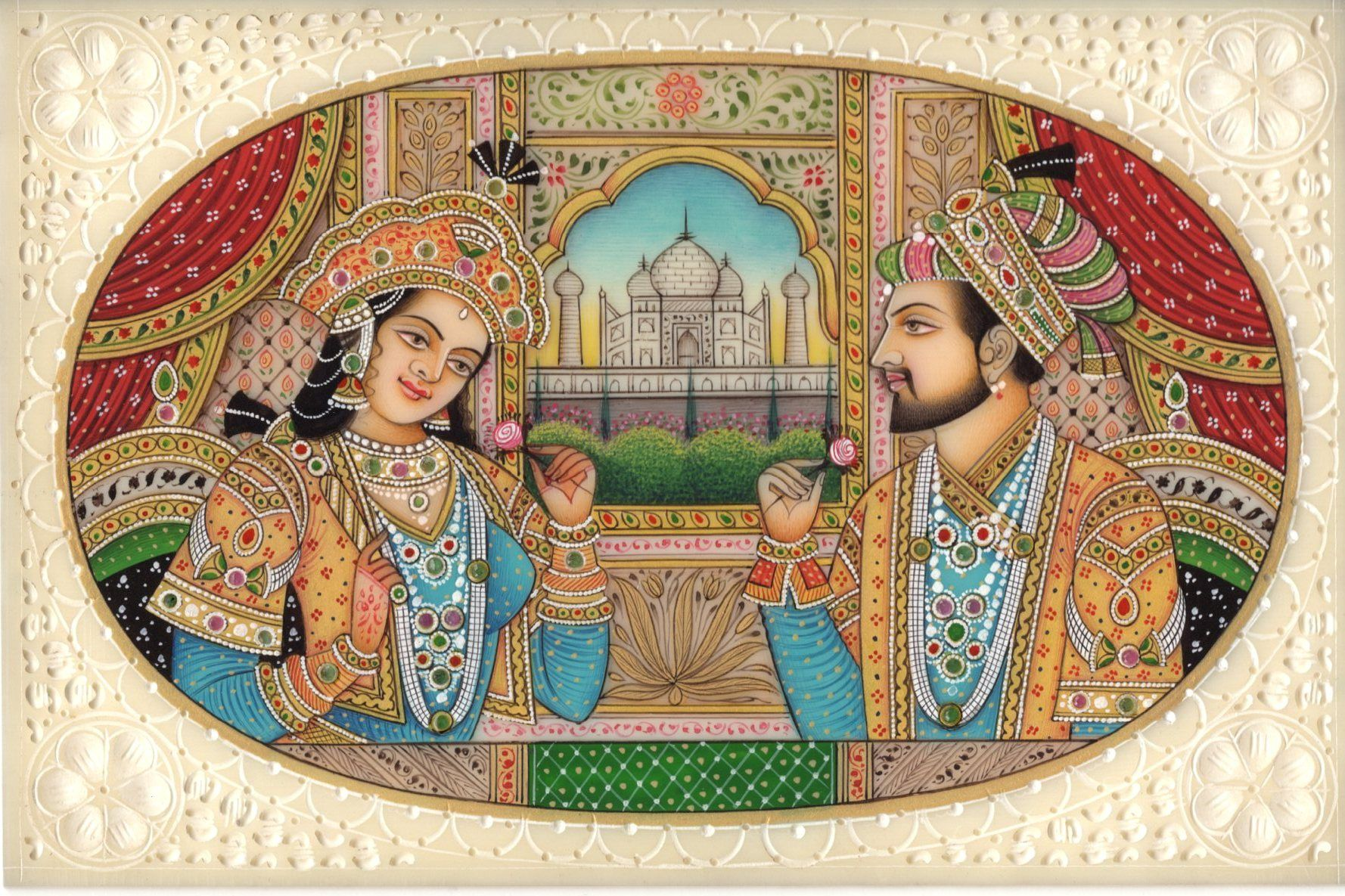 miniature paintings from the mughal era Rare mughal paintings arts 13th century indians art  mughal-style miniature paintings are still being created today by a small number of artists in.