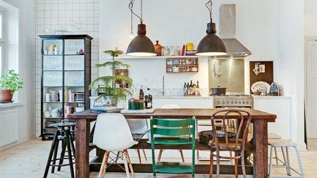 7x inspiratie voor een mix & match van stoelen aan de eettafel