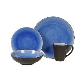 Gibson Everyday Dinnerware Patterns | Gibson Luminaire 16 pc Dinnerware Set Blue  sc 1 st  Pinterest & Gibson Everyday Dinnerware Patterns | Gibson Luminaire 16 pc ...