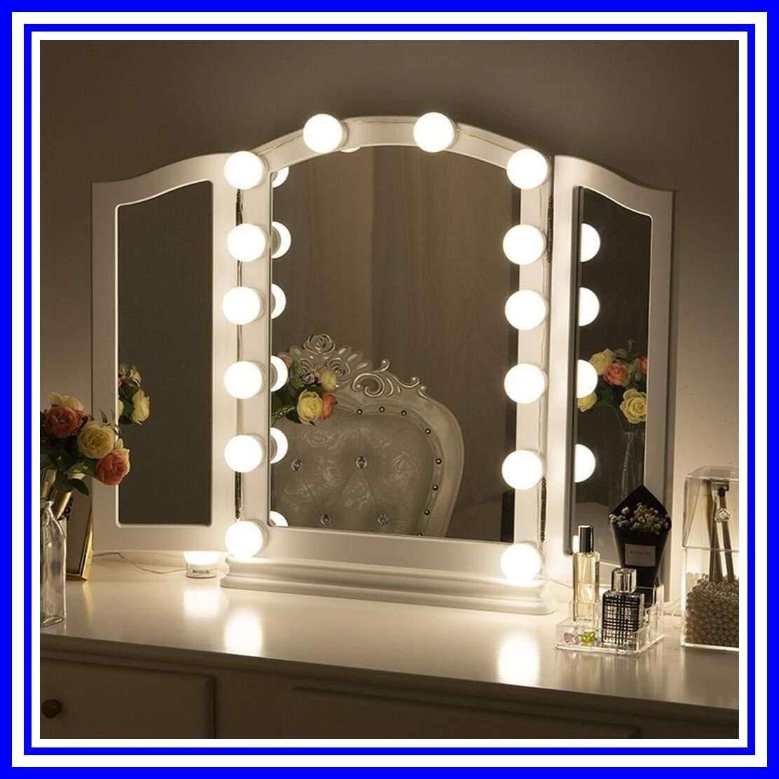 70 reference of chende hollywood lighted makeup vanity