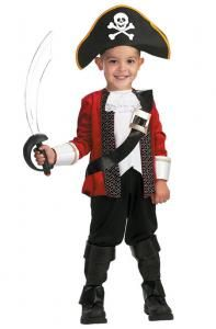 Pirate Captain Costume - Family Friendly Costumes