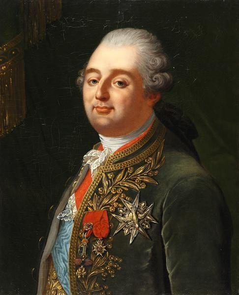 portrait de louis xvi roi de france