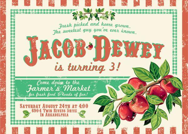 Farmeru0027s Market Invitation Invitations Pinterest Birthdays - fresh birthday party invitation designs