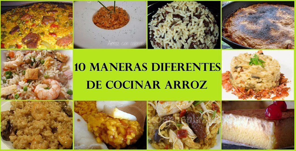 10 maneras diferentes de cocinar arroz. ¡Apunta todas ellas ...