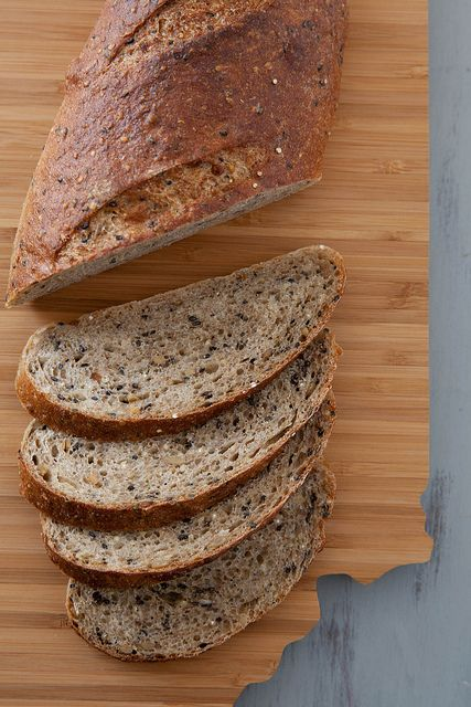 Multigrain Bread Multigrain Bread Recipe Bread Baking
