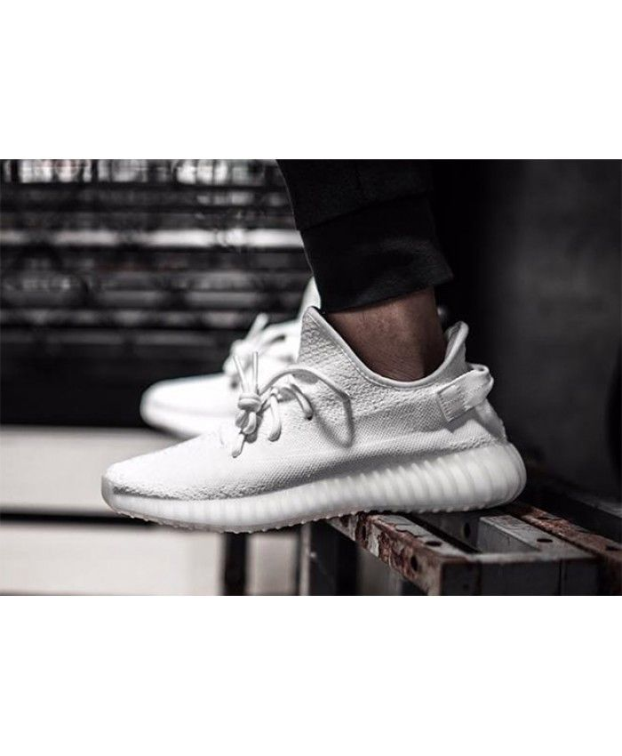 ee90c9253ac Adidas Yeezy Boost 350 V2 Triple White Trainers Sale UK