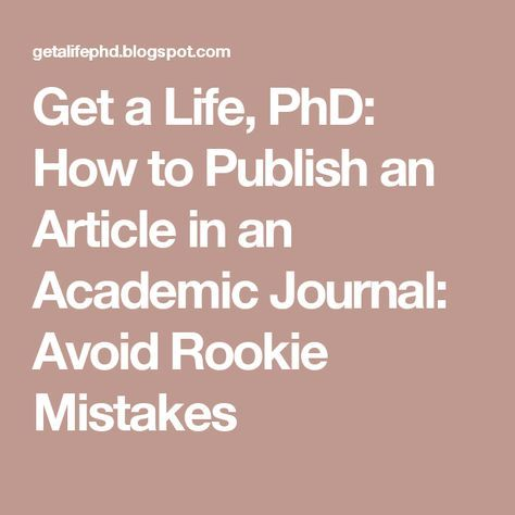 How to write your dissertation journal