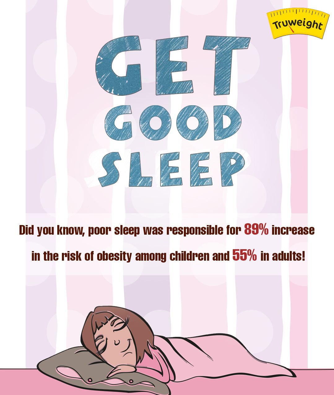 55% of the adults wish they knew this info!!! Sleep you way to weight loss! #getgoodsleep#beautysleep #twthealthtips