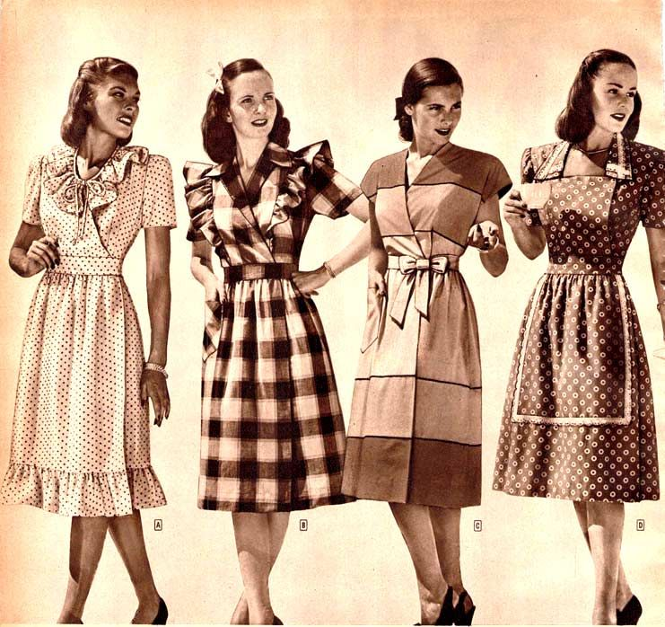 1940s fashion for women girls 40s fashion trends photos more
