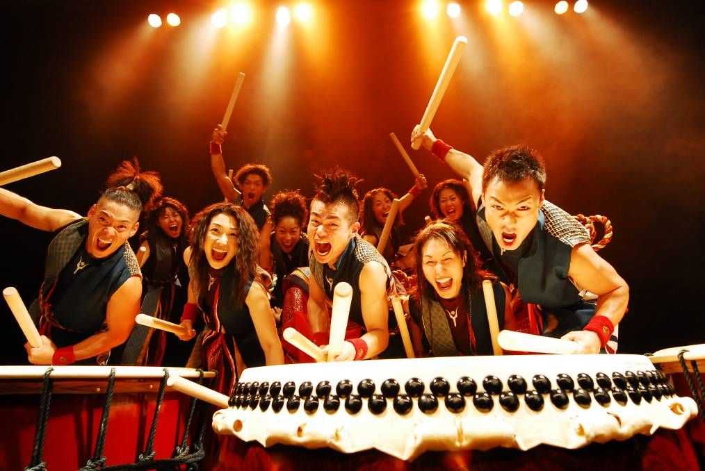 Feel the beat as japans worldrenowned yamato drummers