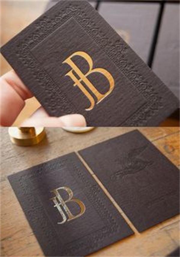 Buy Unique Design 300gsm Cardboard Matte Custom Business Card Gold ...