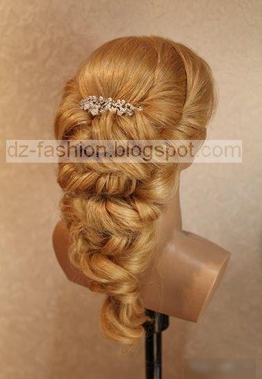 Dz Fashion طريقة عمل تسريحات شعر بالصور 2016 Wedding Hairstyles Tutorial Hair Pictures Hair Styles