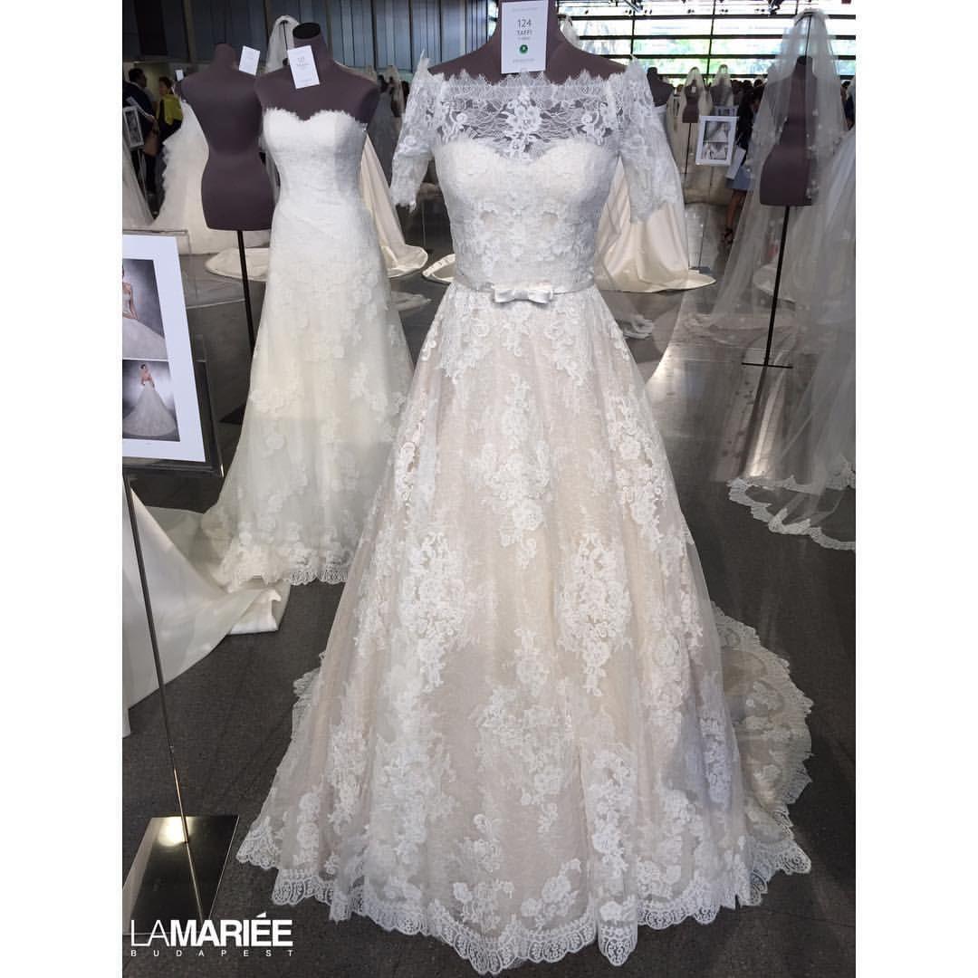 Taffi dress by 2016 Pronovias #pronovias #latest #wedding #weddinggown #weddingdress #esküvő #esküvőiruha #menyasszony #menyasszonyiruha #bride #eskuvoiszalon #bridalgown #bridaldress #weddingday #instapic #instalike #instabride #instadress #instafollow #instawedding #picoftheday #photooftheday #eskuvoiruha #ruhaszalon #esküvőiszalon #tulle #weddingday #eskuvo